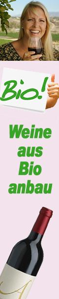 Wein aus bioloischem Anbau