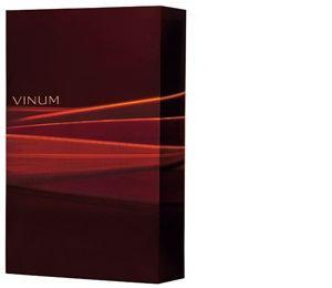 vinum Bordeauxfarbener  mit Lichteffekten für eine FlascheGeschenkkarton