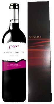 Rotwein Esteban Martin Tinto in einem optisch sehr sch�nen GeschenkkartonGeschenke
