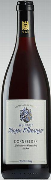 EllwangerWG Ellwanger Winterbacher Hungerberg Dornfelder trocken QbA Jg. 2009-10Deutschland Württemberg Ellwanger
