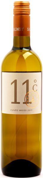 SalweyWG Salwey Cuvee weiss 11 Cuvee aus Weissburgunder, Grauburgunder und Chardonnay Jg. 2011Deutschland Baden Salwey