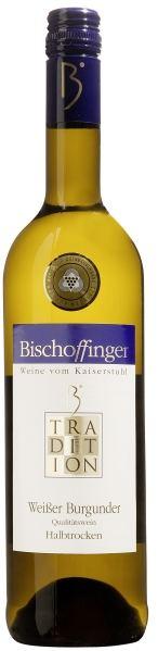BischoffingenWei�er Burgunder Qualit�tswein halbtrocken Serie Tradition Bischoffinger Jg. 2014Deutschland Baden Bischoffingen