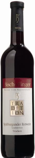 BischoffingenSp�tburgunder Rotwein Qualit�tswein trocken Serie Tradition Jg. 2014Deutschland Baden Bischoffingen