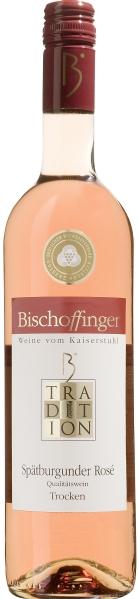 BischoffingenSpätburgunder Rose Qualitätswein  Jg. 2016 Serie TraditionDeutschland Baden Bischoffingen