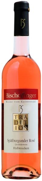 BischoffingenSpätburgunder Rosé Qualitätswein halbtrocken Serie Tradition Bischoffinger Jg. 2016Deutschland Baden Bischoffingen