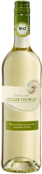 Moselland eGMoselland Müller-Thurgau  Bio QbA halbtrocken Jg. 2012Deutschland Mosel Moselland eG