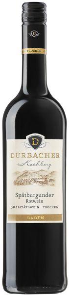 Durbacher WGDurbacher Kochberg Sp�tburgunder Rotwein QbA trocken Jg. 2013Deutschland Baden Durbacher WG