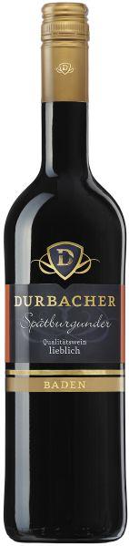 Durbacher WGDurbacher Kochberg Sp�tburgunder Rotwein QbA lieblichJg. 2013Deutschland Baden Durbacher WG