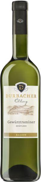 Durbacher WGDurbacher Ölberg Gewürztraminer Spätlese Jg. 2014Deutschland Baden Durbacher WG