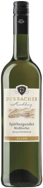Durbacher WGDurbacher Kochberg Spätburgunder Weissherbst QbA Jg. 2010Deutschland Baden Durbacher WG