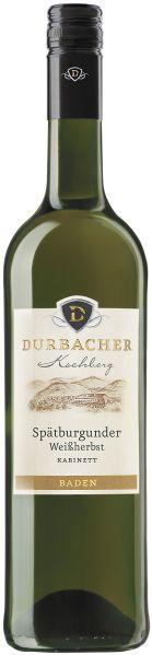 Durbacher WGDurbacher Kochberg Spätburgunder Weissherbst Kabinett Jg. 2010Deutschland Baden Durbacher WG