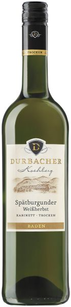 Durbacher WGDurbacher Kochberg Sp�tburgunder Weissherbst Kabinett Trocken Jg. 2010Deutschland Baden Durbacher WG