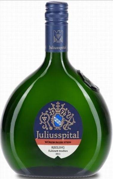 JuliusspitalW�rzburger Stein Riesling Kabinett trocken Jg. 2011Deutschland Franken Juliusspital