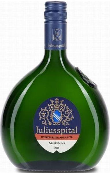 JuliusspitalW�rzburger Abtsleite Muskateller Kabinett Jg. 2011Deutschland Franken Juliusspital