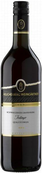 HeuchelbergSchwaigerner Grafenberg Trollinger Qualitätswein Jg. 2016Deutschland Württemberg Heuchelberg