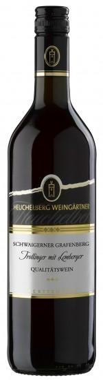 HeuchelbergSchwaigerner Grafenberg Trollinger mit Lemberger Qualitätswein Jg. 2014-15Deutschland Württemberg Heuchelberg