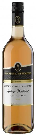 HeuchelbergSchwaigerner Grafenberg Lemberger Weißherbst Qualitätswein Jg. 2016Deutschland Württemberg Heuchelberg