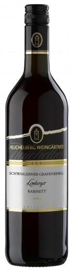 HeuchelbergSchwaigerner Grafenberg Lemberger Kabinett Jg. 2015Deutschland Württemberg Heuchelberg