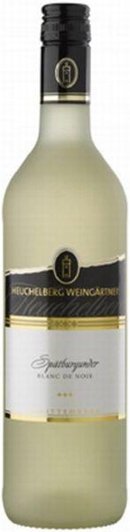 HeuchelbergBlanc de Noirs Spätburgunder Qualitätswein weiß gekeltert Jg. 2015Deutschland Württemberg Heuchelberg