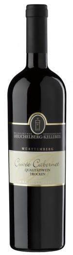 HeuchelbergCuvee Cabernet trocken Qualitätswein Barrique Jg. 2012-13Deutschland Württemberg Heuchelberg