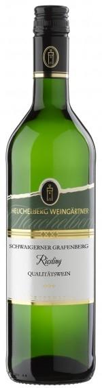 R17005415 Heuchelberg Schwaigerner Grafenberg Riesling Qualitätswein B Ware Jg.2015