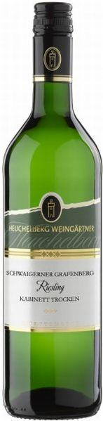 HeuchelbergSchwaigerner Grafenberg Riesling Kabinett trocken Jg. 2016Deutschland Württemberg Heuchelberg