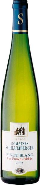 Schlumberger Pinot Blanc Les Princes Abbes Appellation Alsace Contro lee Jg. 2014-15 Frankreich Elsass Schlumberger