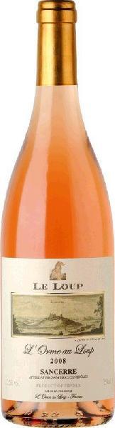 Le LoupSancerre Rose  Mis en bouteille par l Orme au Loup Jg. 2013-14Frankreich Loire Sancerre Le Loup