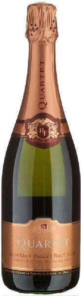 Roederer QuartetQuartet Rose Brut Californian Quality Sparkling Wine Traditionelle Flascheng�rung Anderson Valley - Roederer EstateSekt Roederer Quartet
