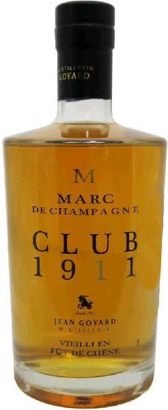 Fr. SonstigeMarc de Champagne Egrappe Tres Vieux Jean Goyard 0,70 ltr.Frankreich Fr. Sonstige