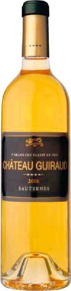 GuiraudChateau  1er Cru Classe Appellation Sauternes Controlee Mis en bouteille au Chateau Jg. 2007Frankreich Bordeaux Guiraud