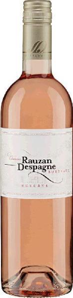 Rauzan DespagneRosé - Réserve- Appellation Bordeaux Rosé Contro lée Cabernet Sauvignon Jg. 2015Frankreich Elsass Rauzan Despagne