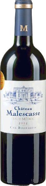 MalescasseCh�teau  Cru Bougeois Sup�rieur Haut-M�doc Jg. 2011-12Frankreich Bordeaux Medoc Malescasse