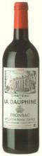 Cht. de La DauphineChâteau de la Dauphine Appellation Canon Fronsac Contro lée  Jg. 1999Frankreich Bordeaux Bord. Sonstige Cht. de La Dauphine