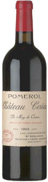Certan de MayChateau  Appellation Pomerol Controlee Mis en bouteille au Chateau Jg. 2010Frankreich Bordeaux Certan de May