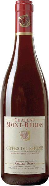 Mehr lesen zu :  R2000274001 Mont-Redon Cotes du Rhone RougeAppellation       B Ware Jg.2015