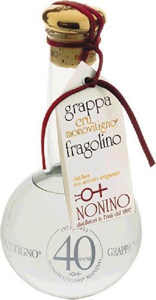 NoninoGrappe cru Monovitigno Grappa di Fragolino Monovitigno Cru Colli del Friuli Orientale 0,50 ltr.Italien Friaul Nonino