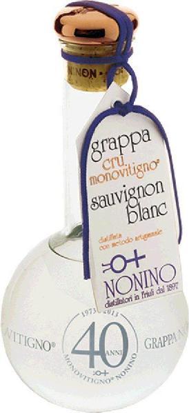 NoninoGrappe cru Monovitigno Grappa di Sauvignon Monovitigno Cru Collio e Colli Orientali del Friuli in GPItalien Friaul Nonino