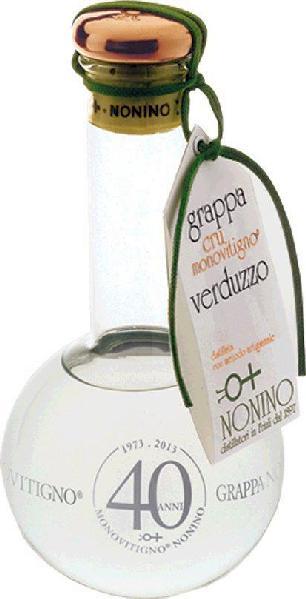 NoninoGrappe cru Monovitigno Grappa di Verduzzo Monovitigno Cru Collio Orientali del FriuliItalien Friaul Nonino