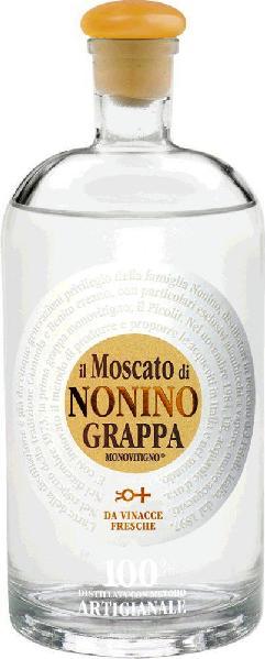 NoninoGrappe Monovitigno Vigneti Grappa il Moscato Monovitigno Klares DestillatItalien Friaul Nonino