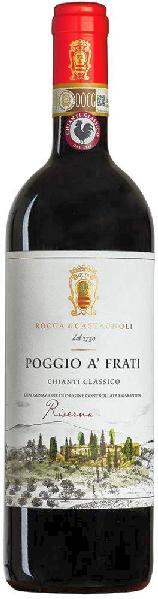Rocca di CastagnoliChianti Classico Riserva Poggio a Frati Jg. 2011Italien Toskana Rocca di Castagnoli