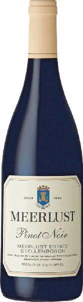 MeerlustPinot Noir Wine of Origin Stellenbosch Jg. 2013-15Südafrika Kapweine Stellenbosch Meerlust