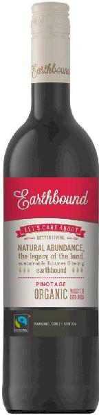 Earthbound Pinotage Wine og Origin Darling Fairtrade, Organic Jg. 2013-14S�dafrika Darling Earthbound