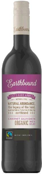 Earthbound Cabernet Sauvignon Wine of Origin Darling Fairtrade, Organic Jg. 2013-15Südafrika Darling Earthbound
