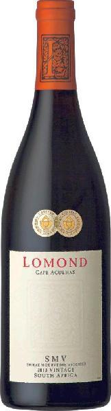 LomondSMV Red Blend Wine of Origin Cape Agulhas Jg. 2014 Cuvee aus Syrah, Mourvedre, ViognierSüdafrika Cape Agulhas Lomond