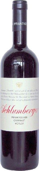 Robert SchlumbergerPrivatkeller Cabernet-Merlot Qualitätswein aus der Thermenregion Jg. 2012-13Österreich Oe. Sonstige Robert Schlumberger