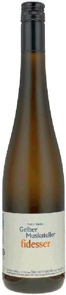 FidesserGelber Muskateller Platter Rieden Qualitätswein aus Niederösterreich Jg. 2015Österreich Weinviertel Fidesser