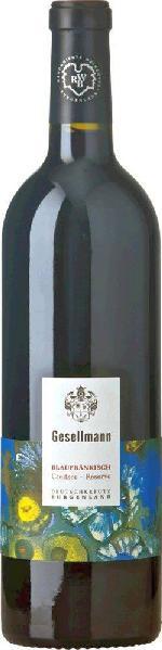 GesellmannBlaufränkisch Creitzer Reserve Qualitätswein aus dem Burgenland Jg. 2014-15Österreich Burgenland Mittelburgenland Gesellmann