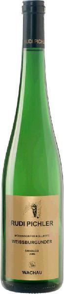 Rudi PichlerWeissburgunder Smaragd Kollmütz Qualitätswein aus der Wachau Jg. 2013-14Österreich Wachau Rudi Pichler