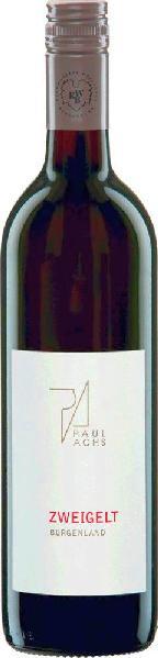 Paul AchsZweigelt Qualitätswein aus dem Burgenland Jg. 2013-14Österreich Neusiedlersee-Hügelland Paul Achs